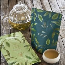 Tè Verde Bancha Fiorito in bustina