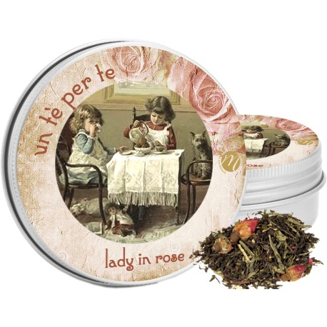 Lady in Rose