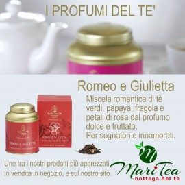 Romeo e Giulietta - Tè verde in Lattina Regalo