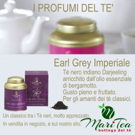 Earl Grey Imperiale - Tè Nero in Lattina Regalo