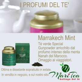 Marrakesh Mint - Tè verde in Lattina Regalo