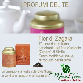 Fior di Zagara - Tè Nero in Lattina Regalo